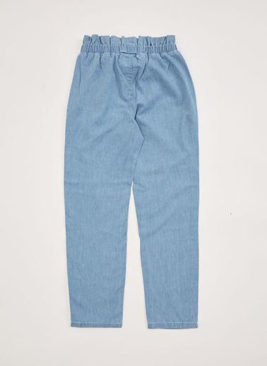 DeFacto Kız Çocuk Carrot Fit Jean Pantolon Mavi